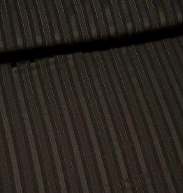 Transparante strepen zwart