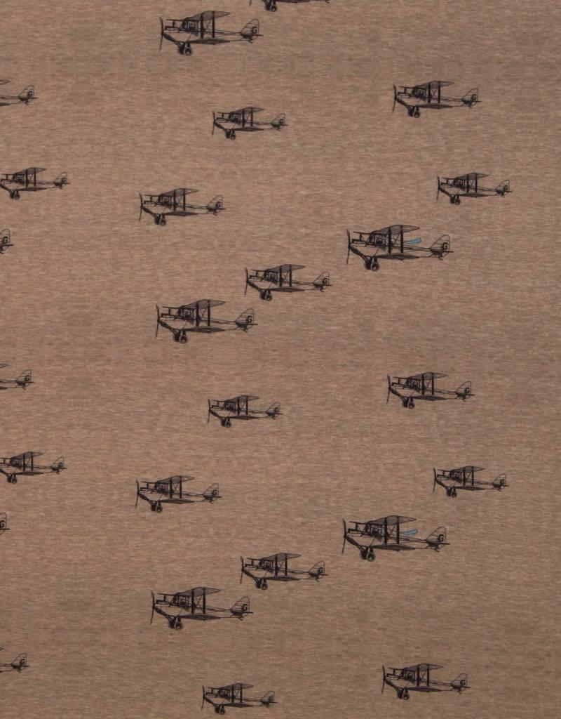 Vliegers gemeleerd beige