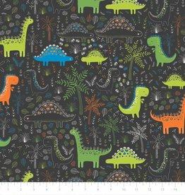 Dinosaurus in het bos