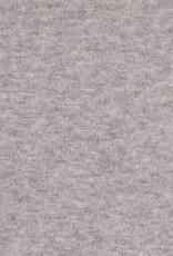 Boordstof Heike  melange licht grijs