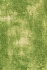 Batik tricot gras groen