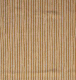 Natural stripes linnen