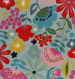 Alexhander Henri Fabrics Pretty poppy