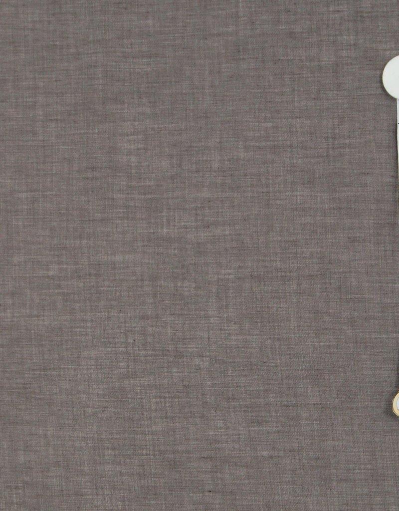 Polyester katoen bruin