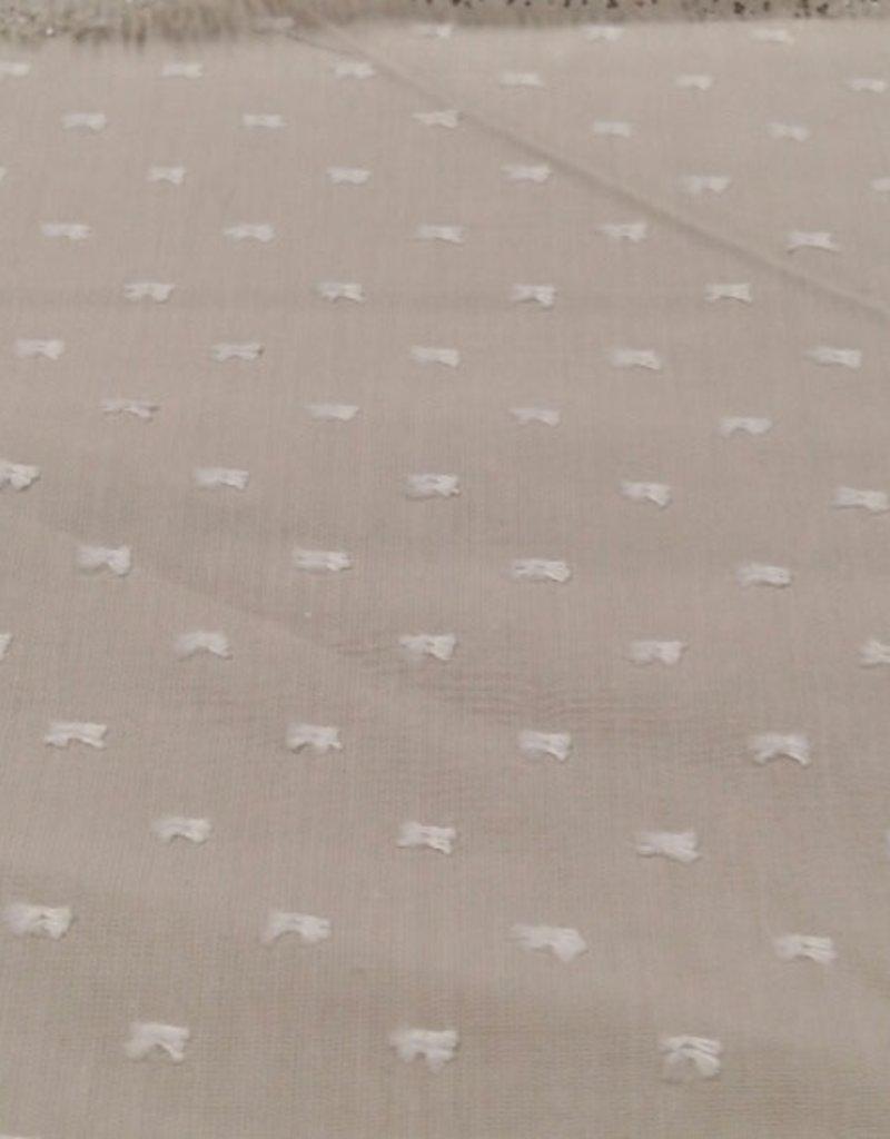 Plumette katoen licht grijs