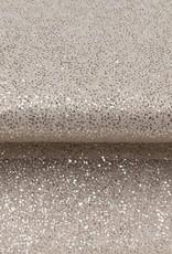 Tulle met zilver glitters