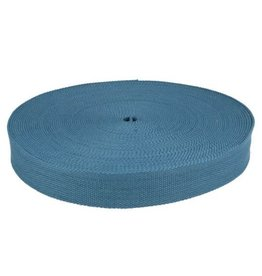 Tassenband jeansblauw 32 mm