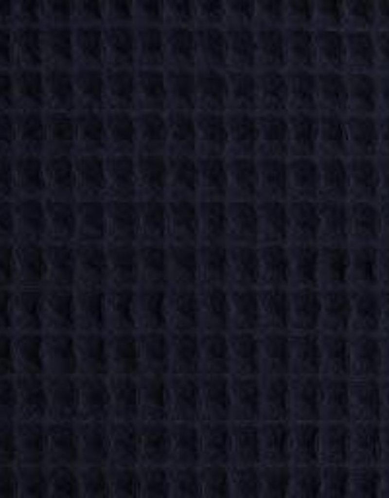 Wafel badstof blauw Nelson