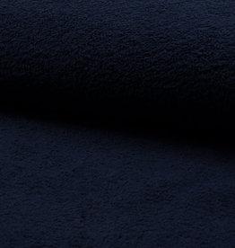 Badstof blauw dubbel gelust