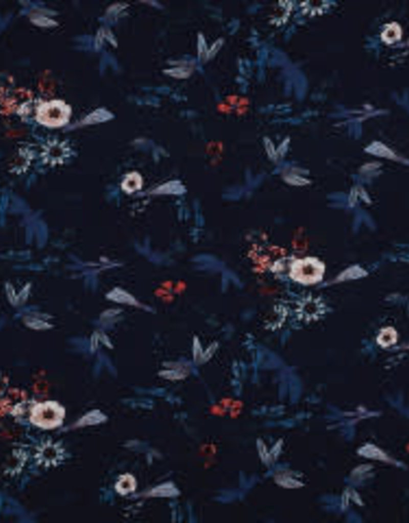 Bengaline flower blue