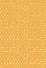 Flax hartjes geel