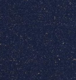 Boordstof Sven glitters Donker blauw/goud