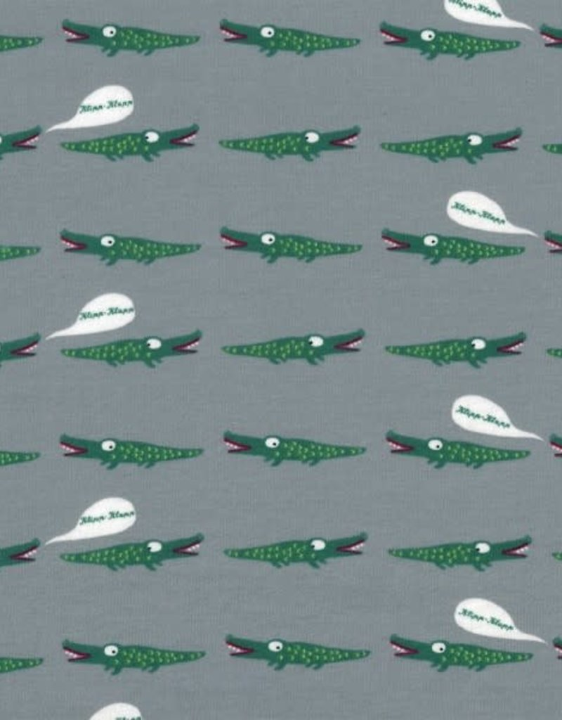 Overal krokodillen, interlock