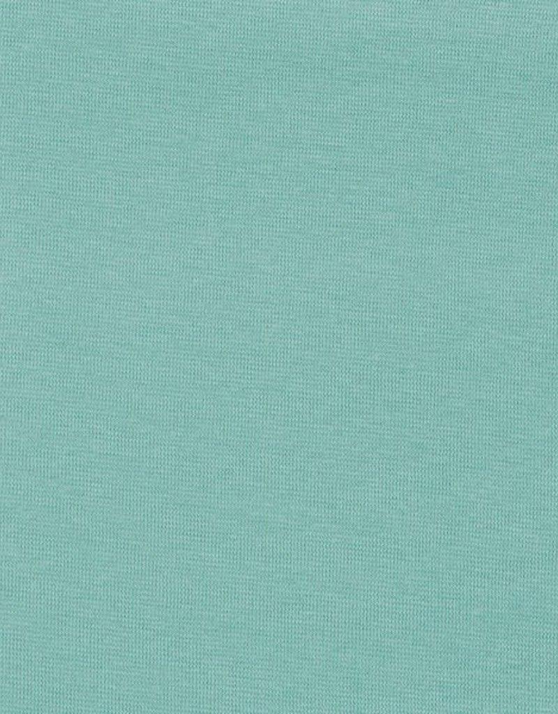Boordstof rib 1x1 cloud blue