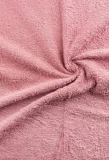 Badstof roze dubbel gelust