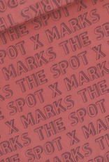 See  You At Six X Marks The Spot Marsala red