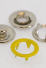 Baby drukkers 9 mm /12 stuks geel