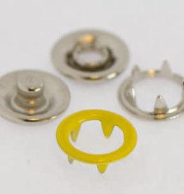 Baby drukkers 9 mm  geel