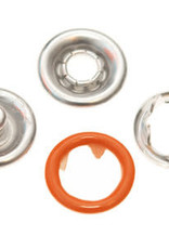 Baby drukkers 9 mm /12 stuks oranje