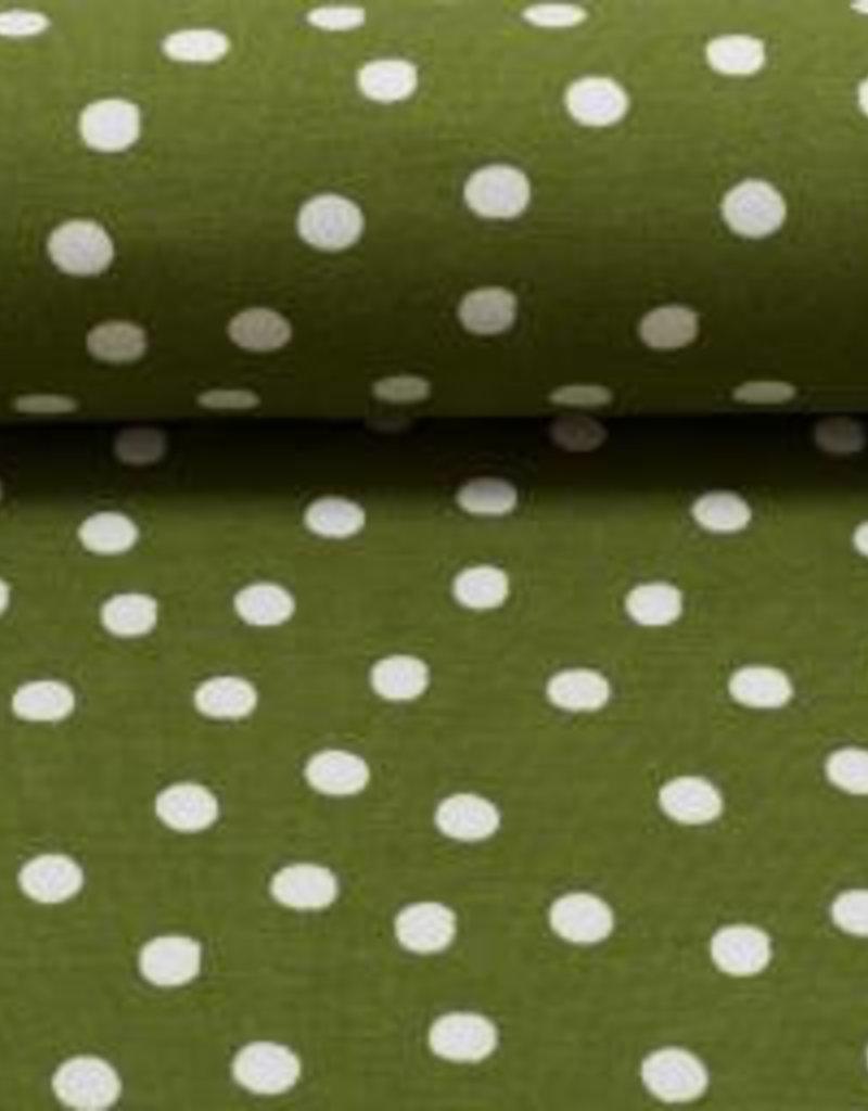 Pauline groen met wit