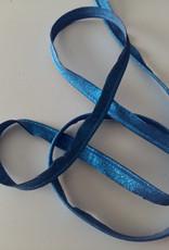 Paspel lint glitter blauw