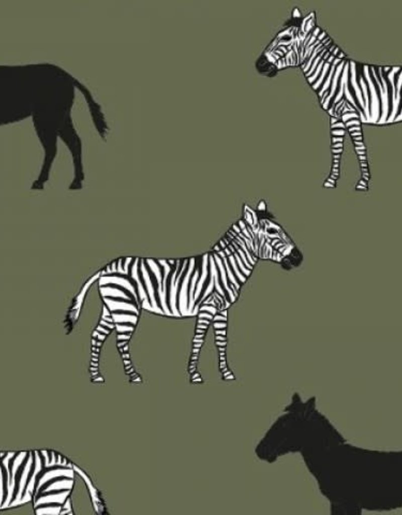 Zebra'sen paarden