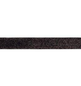 Glitterband  zwart