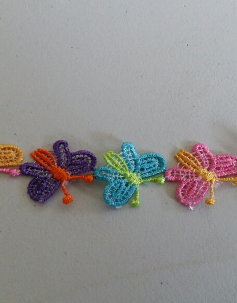 Lint met vlinders