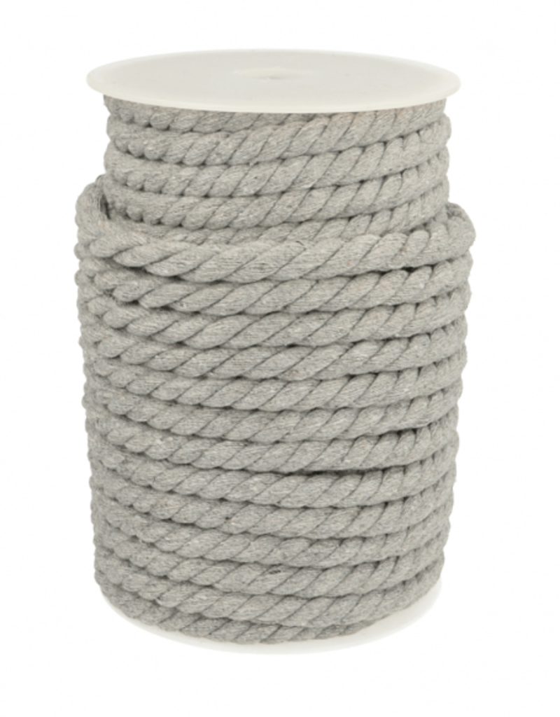 Gedraaid touw grijs