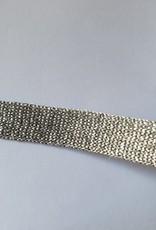 Lint zilver glitter