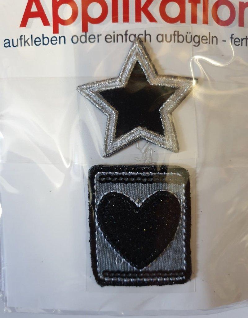 Applicatie ster en hart