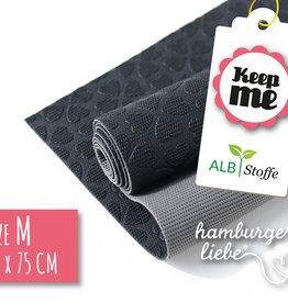 Hamburger Liebe Keep me zwart