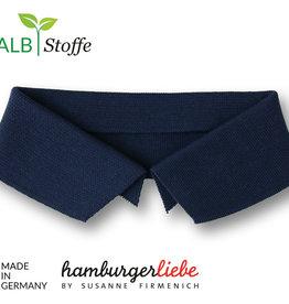 Hamburger Liebe Polo me donker blauw