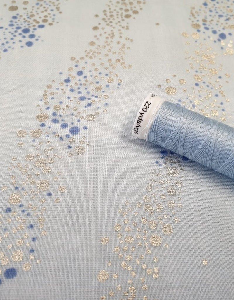 Rico design Mint bubbels mousseline