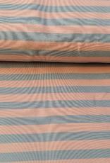 Isa streep roos/grijs