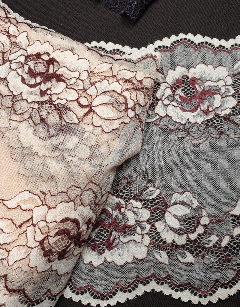 Kant roze en bruin