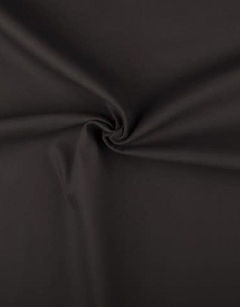 Canvas uni Donker grijs
