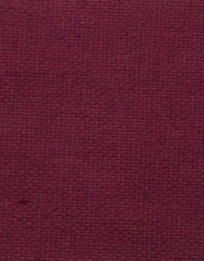 Canvas uni Fuschia rood
