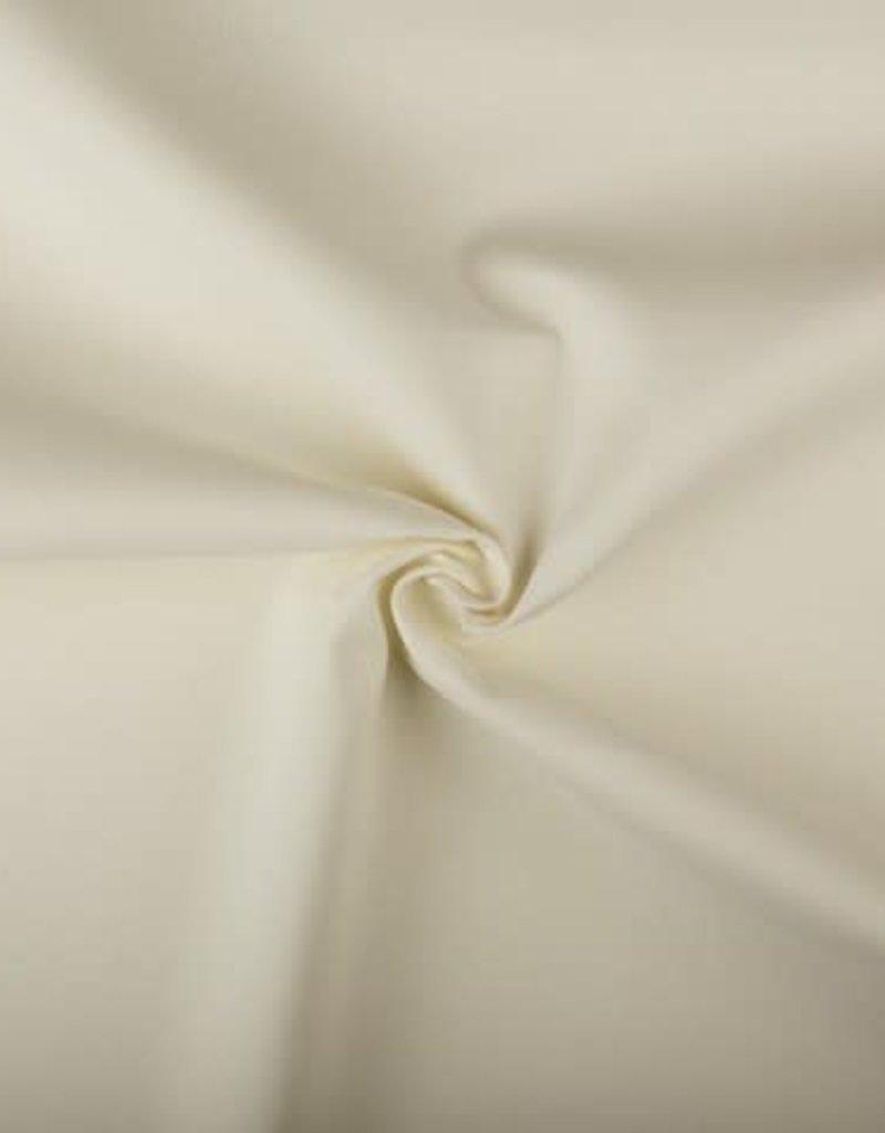 Canvas uni Gebroken wit