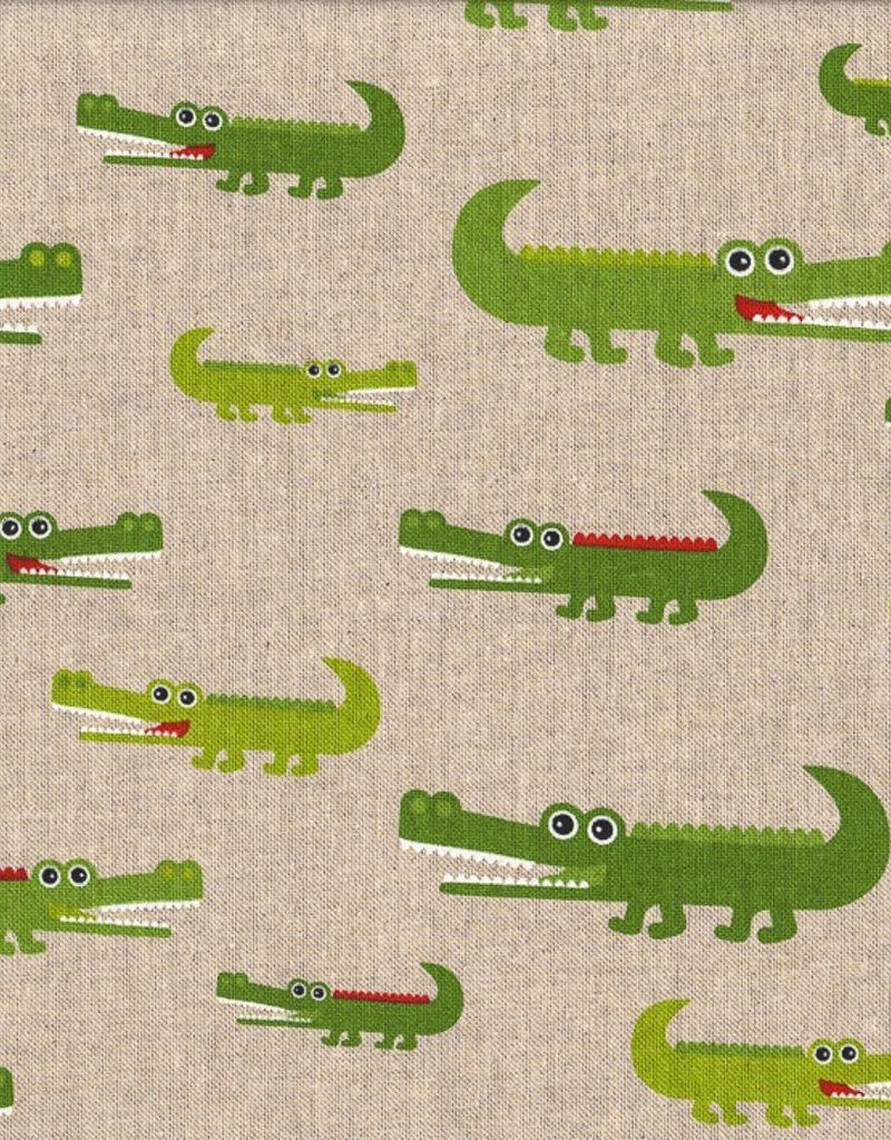 krokodillen Canvas