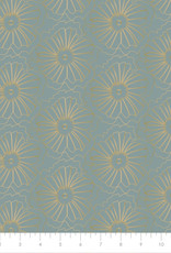 Flowers grijs Camelot Fabrics