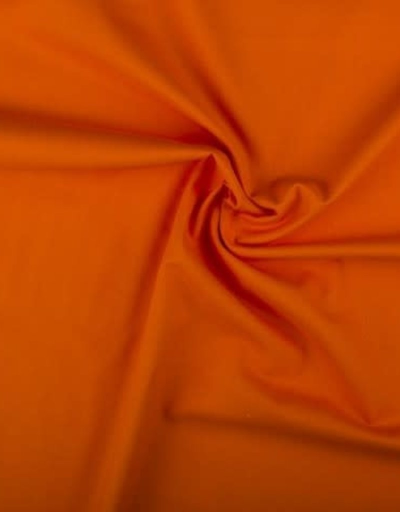 Katoen uni  orange