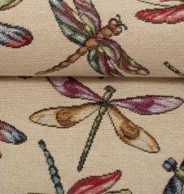 Dragonflies beige
