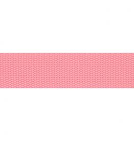 Tassenband donker roze