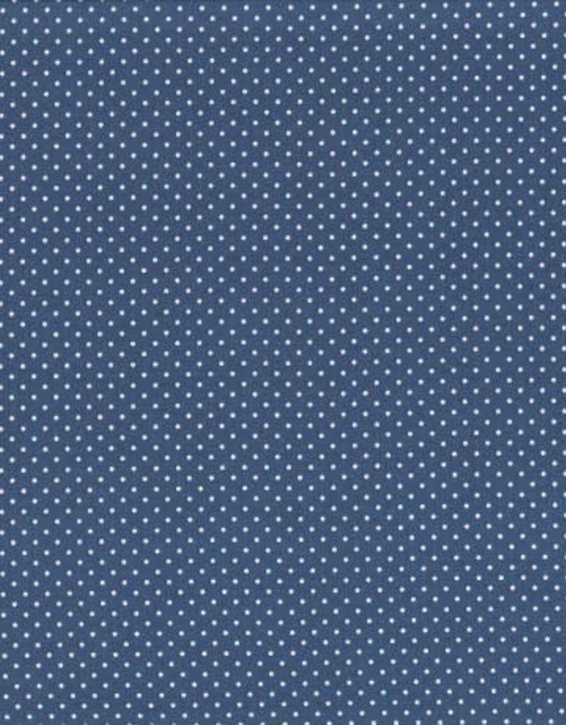 Judith mini dots denim blue