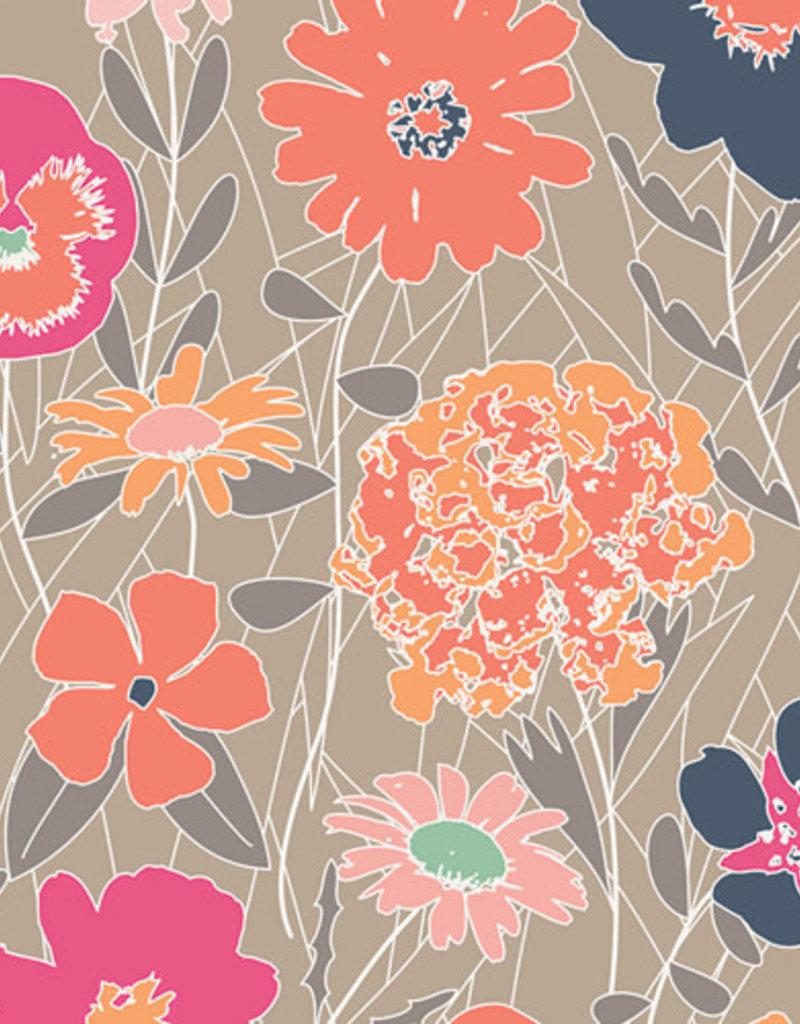 Art Gallery Fabrics AGF Curiosities Splendiferous Warm