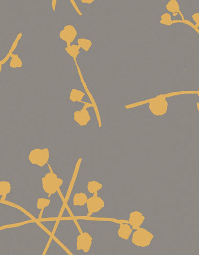 Art Gallery Fabrics AGF Imprint Buttonballs Gold