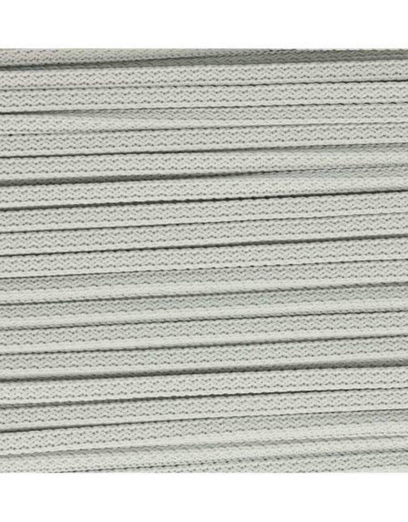 Vierkante koord  licht grijs