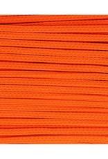 Vierkante koord oranje