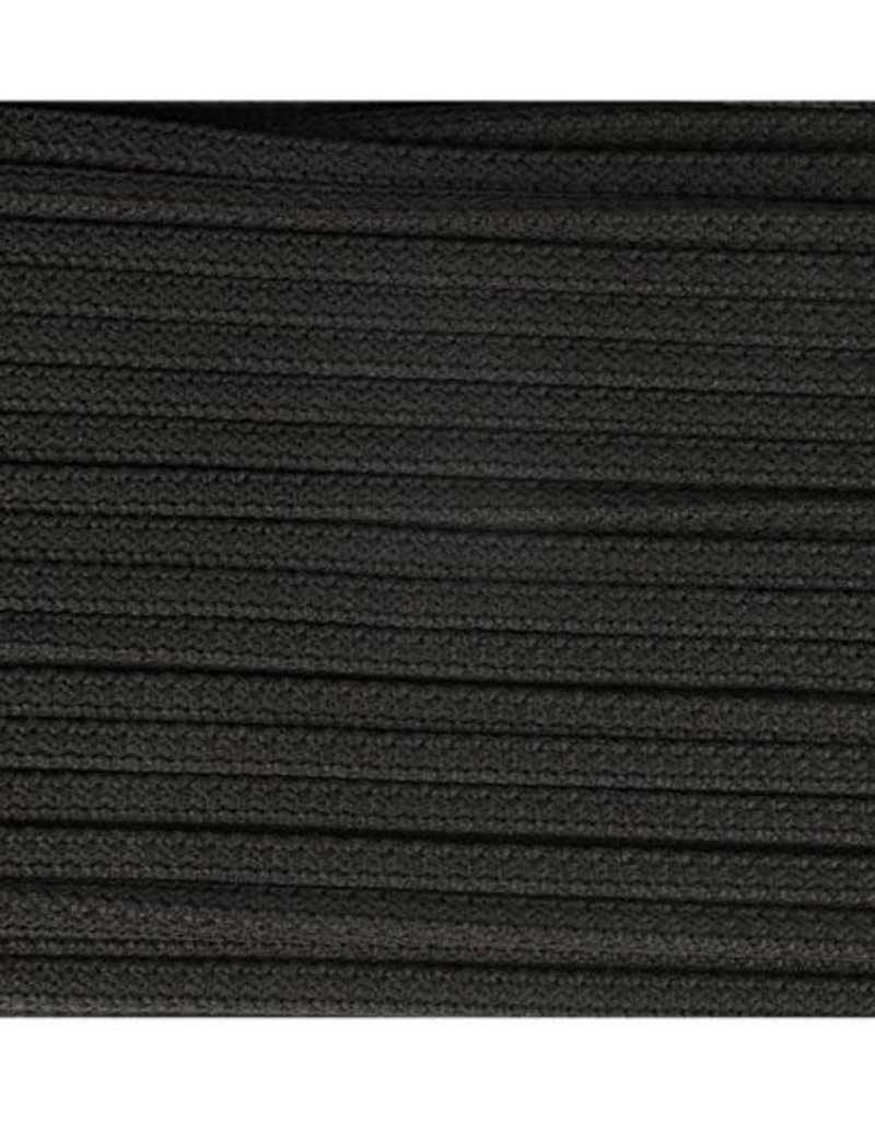 Vierkante koord zwart